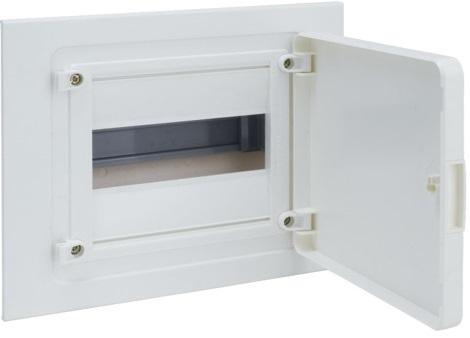Щит скрытой установки, 8М, с непрозрачной дверцей