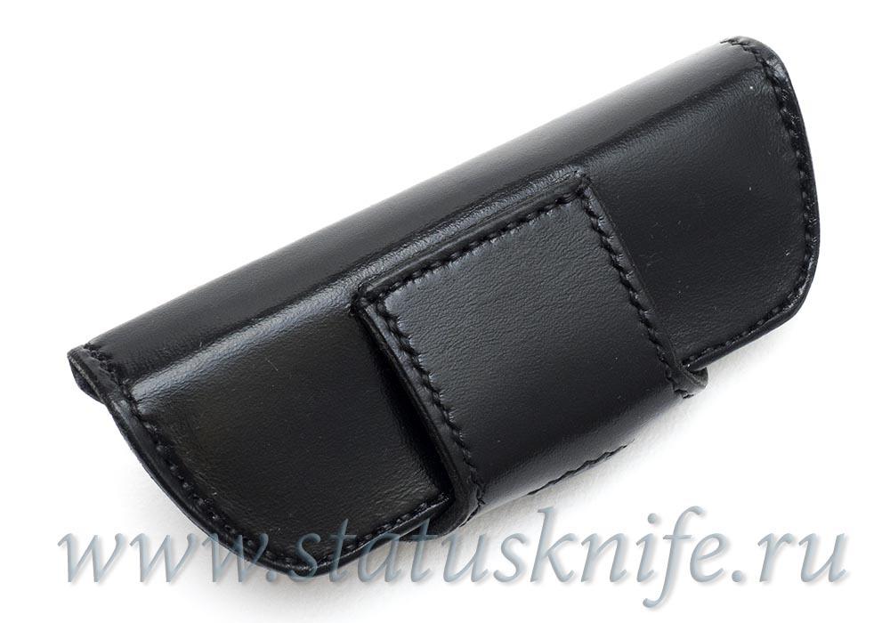 Чехол кожаный черный для МБШ Флиппер 95, Хати, Ф3 - фотография