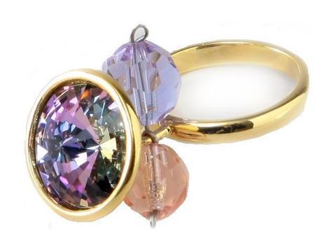 Кольцо с позолотой Альхена