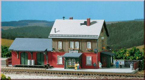 Здание вокзала Хагенау 13275