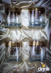Подарочный набор из 4 стаканов для виски «Империя», 275 мл, фото 2