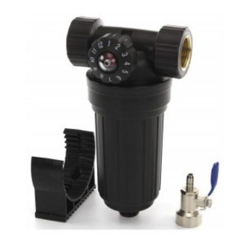 Водоочиститель PS 503 BK-BK 34 (сетчатый фильтр д/хол. воды с полифосфатом 3/4