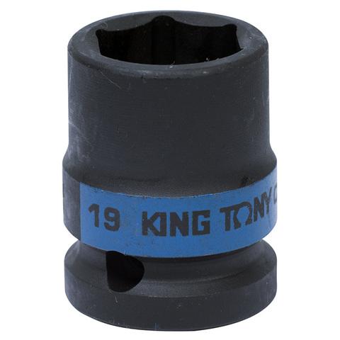 KING TONY (453519M) Головка торцевая ударная шестигранная 1/2