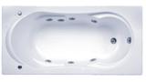 Ванна акриловая BAS Ахин 170х80 с гидромассажем
