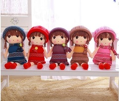 Soft Doll Dresses Knitted 60см