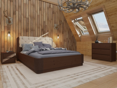 Кровать Орматек Wood Home 1 с подъёмным механизмом