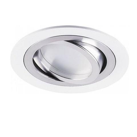 Встраиваемый поворотный светильник Feron DL2811 MR16 G5.3 белый