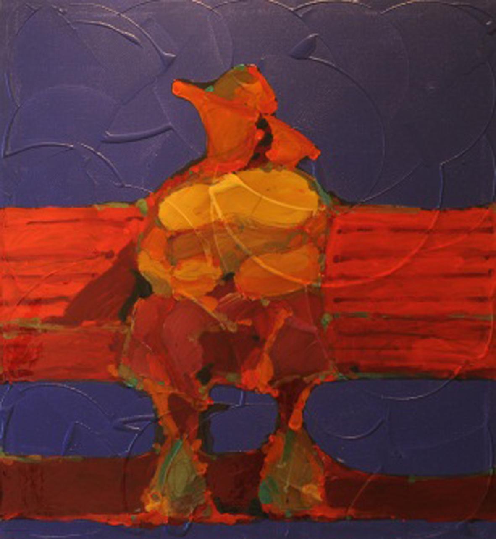 Dedication to Kandinsky - 1 (diptych)