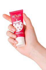 Увлажняющая гель-смазка с ароматом клубники Silk Touch Strawberry - 50 мл.