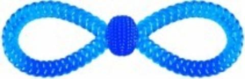 N1 Игрушка для собак в форме восьмерки