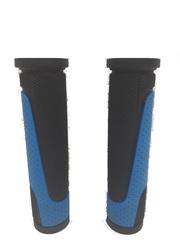 Грипсы MTB XH-G56B 125mm,  резина,черно\синие