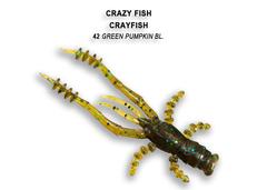 Силикон CRAZY FISH CRAYFISH 26-45-42-6