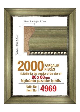 Pazl çərçivəsi (96 x 68 cm.) 4969