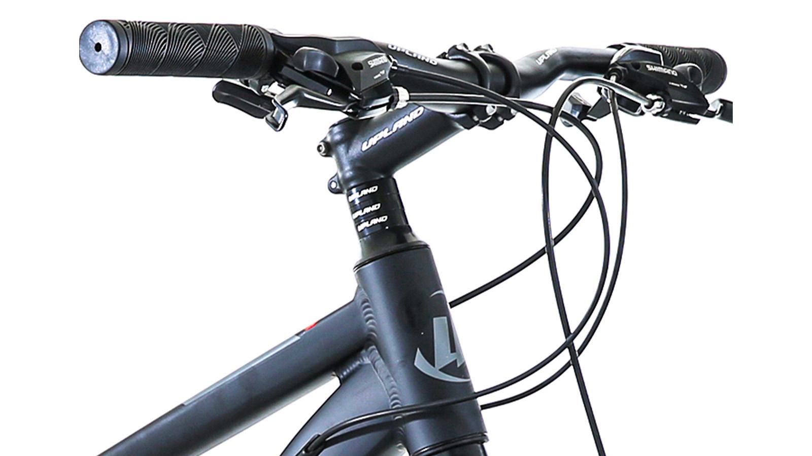 руль и тормоз горного велосипеда