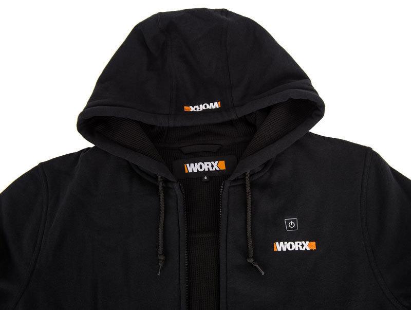 Куртка с подогревом Worx WA4660 L черная