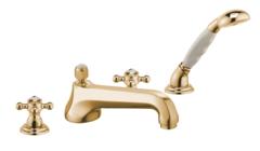 Смеситель на борт ванны на 1 отверстие DN 15 Kludi Adlon 515254520 фото