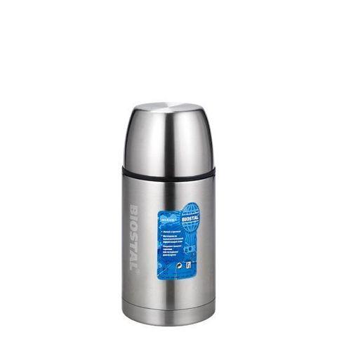Термос универсальный (для еды и напитков) Biostal Авто (1,2 литра), стальной