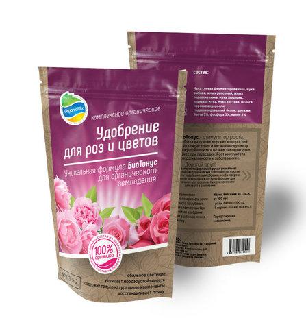 Органик Микс для роз и цветов 850 г
