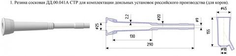 Сосковая резина силикон