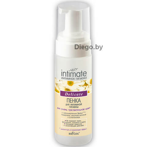 Пенка для интимной гигиены для очень чувствительной кожи Delicate , 175 мл ( Intimate )