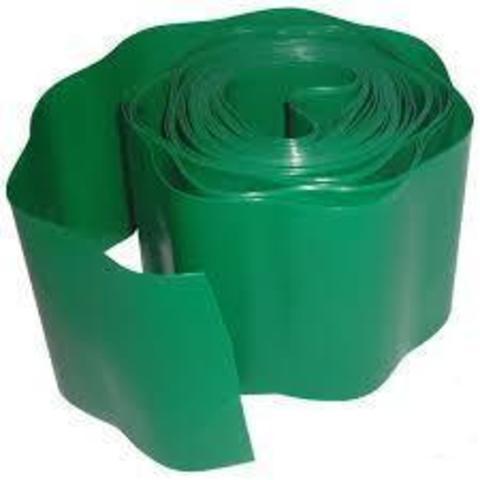 Бордюр для газона h15см(9м) зеленый