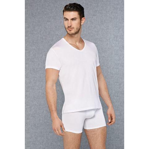 Мужская футболка белая Doreanse 2865