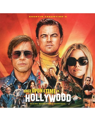 Виниловая пластинка. Once Upon A Time In Hollywood Soundtrack. Limited Orange LP Edition