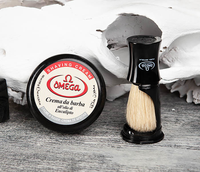 RAZ59.81818 Бритвенный набор, помазок и крем для бритья фото 02