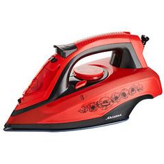 Утюг электрический 2600 Вт АКСИНЬЯ КС-3001 красный с черным