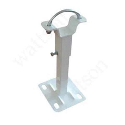 Кронштейн напольный для алюминиевых радиаторов, стойка с хомутом