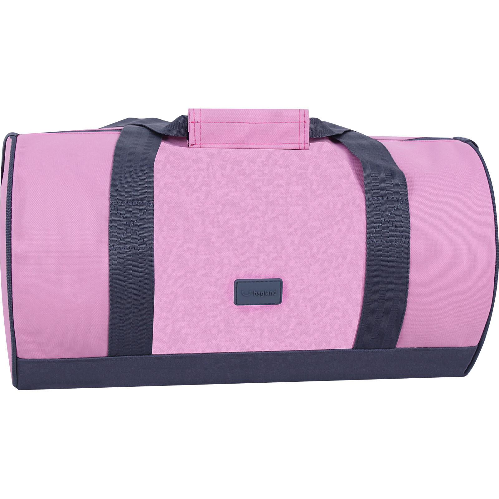 Ручная кладь (Lowcost) Сумка Bagland Luce 23 л. Розовый/Серый (0033366) IMG_7633-1600.jpg