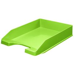 Лоток для бумаг горизонтальный Attache Fantasy зеленый