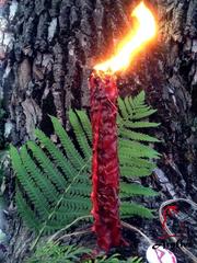 Свеча-ритуал «Пламя Воплощения»