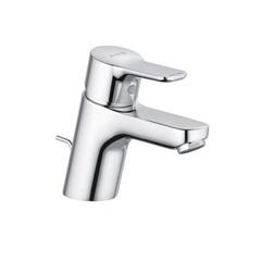 Смеситель для раковины однорычажный c донным клапаном Kludi Pure&Easy 372850565 фото