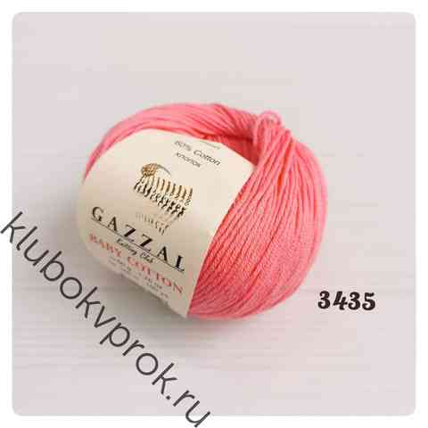 GAZZAL BABY COTTON 3435, Розовый коралл
