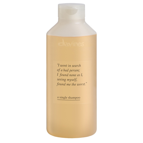 Davines A Single Shampoo: Шампунь единственный в своём роде (A Single Shampoo)