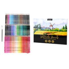 Карандаши цветные акварельные Mazari набор 72 цвета