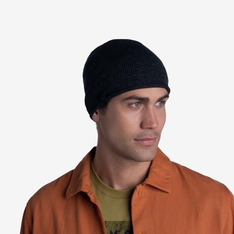 Вязаная шапка Buff Hat Knitted Lekey Graphite фото 2