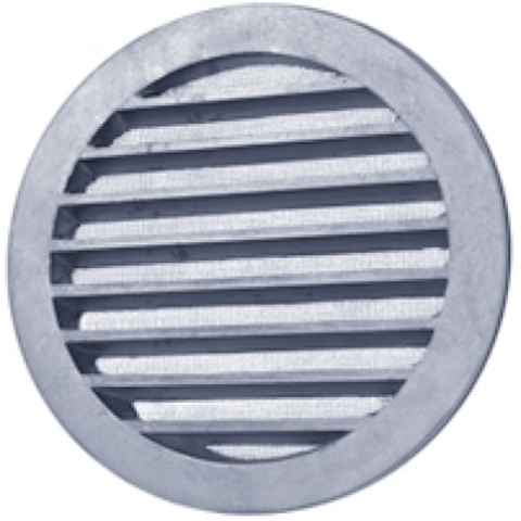 Алюминиевая наружная решетка Polar Bear CG 125 для круглых каналов
