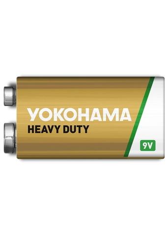 Батарейки Yokohama 6F22, 9V крона (1/10)