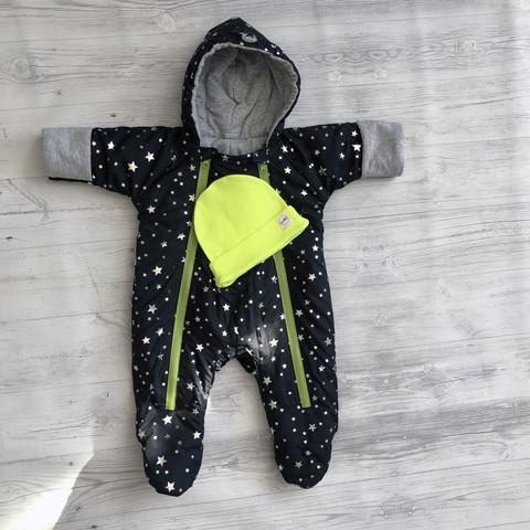 Демисезонный комбинезон для малышей Звездочки