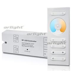 Контроллер SR-2839MIX White (12-24V, 2x5A, ПДУ)