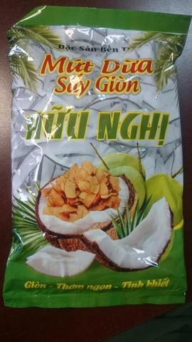Кокосовые чипсы (очень вкусные!) Mit Duo - 250 гр.