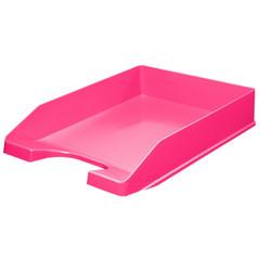 Лоток для бумаг горизонтальный Attache Fantasy розовый
