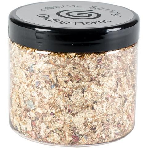 Поталь в хлопьях  Creative Expressions -Gilding Flakes by Cosmic Shimmer-  Golden Jewel