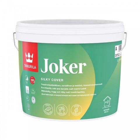 Tikkurila Joker / Тиккурила Джокер матовая, экологичная краска