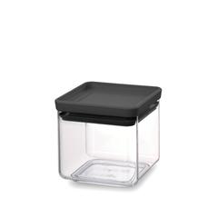 Прямоугольный контейнер (0,7 л), Темно-серый