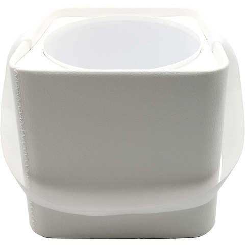 Подарочная Коробка с пластиковой вставкой (иск.кожа) квадратная 18*18*17cм