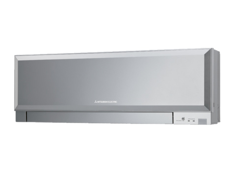 Внутренний блок настенного типа инверторной мульти сплит системы - Mitsubishi Electric MSZ-EF25VES (silver) серия Design