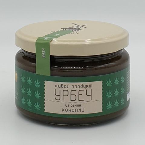 Урбеч из семян конопли ЖИВОЙ ПРОДУКТ